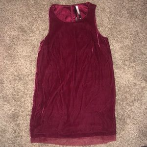 Red Velvet Retro Dress NWOT